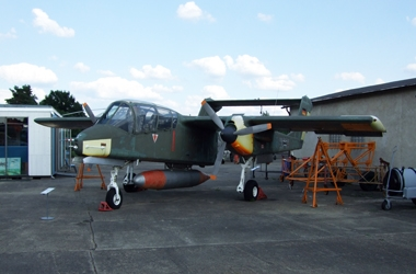 Museum Rothenburg - Rockwell OV-10A Bronco